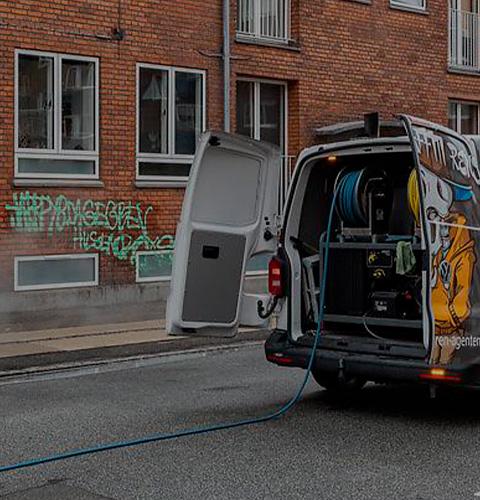 Graffitivogn tilhørende Graffitipatruljen